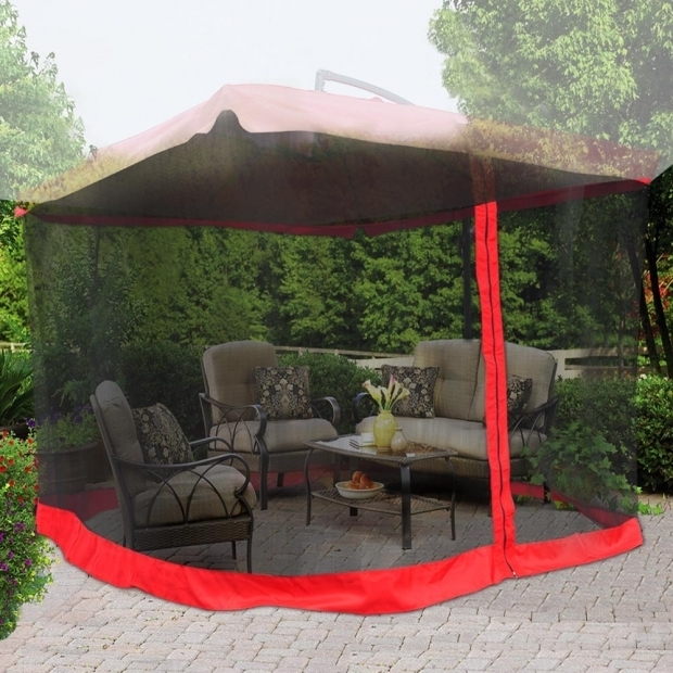 Alluring 9 X 9 Gazebo With Mosquito Net 9x9 Mosquito Netting Bug Mesh Net For Outdoor Patio Offset