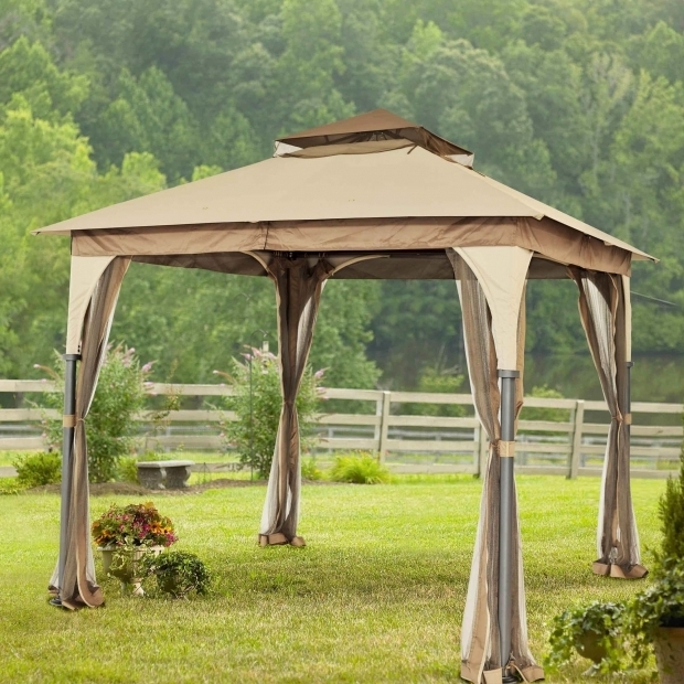 Alluring Gazebo Sunjoygroup Sunjoy Manilla 8 Ft W X 8 Ft D Metal Portable Gazebo Reviews