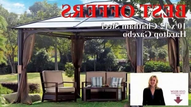 Amazing Hardtop Gazebos For Sale Best Hardtop Gazebo Buy 10x12 Chatham Steel Hardtop Gazebo With