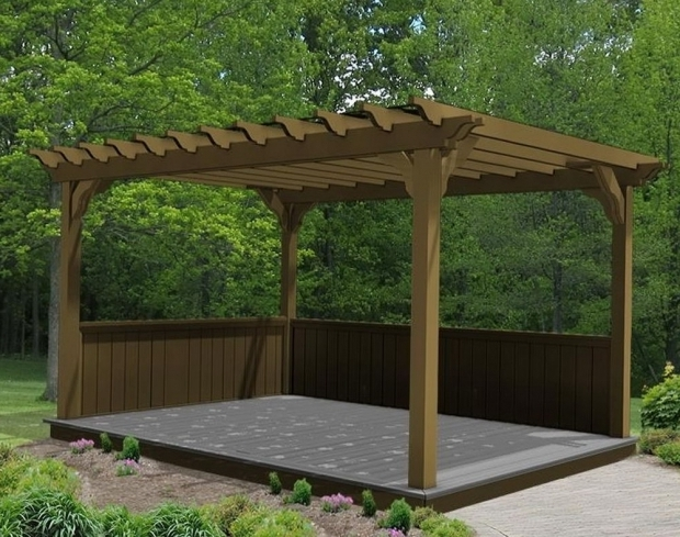 Beautiful Cheap Pergola Kits Sale Home Design Ideas