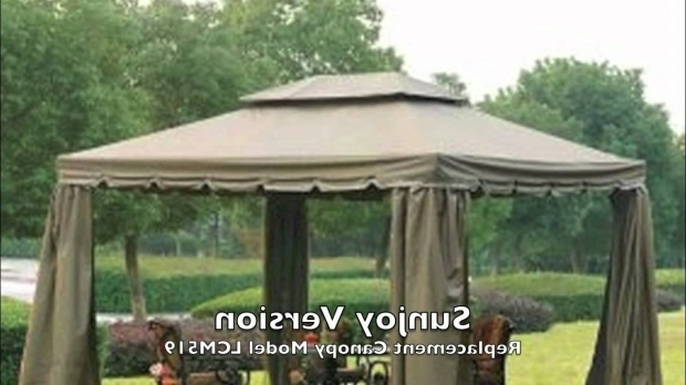 Beautiful Gazebo Sunjoygroup Bjs 10x12 Gazebo Canopy For Sunjoy And Bond Versions Youtube