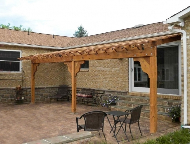 Delightful Attached Pergola Kits Attached Pergola Pictures Garden Pergola Attached With Pergola