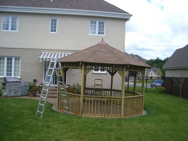 Delightful Octagon Gazebo Plans Complete Set Cheap Gazebo Plans Step Step Instructions Download