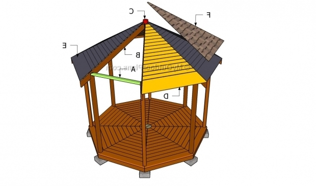 Octagon gazebo roof plans pergola gazebo ideas for Free cupola blueprints