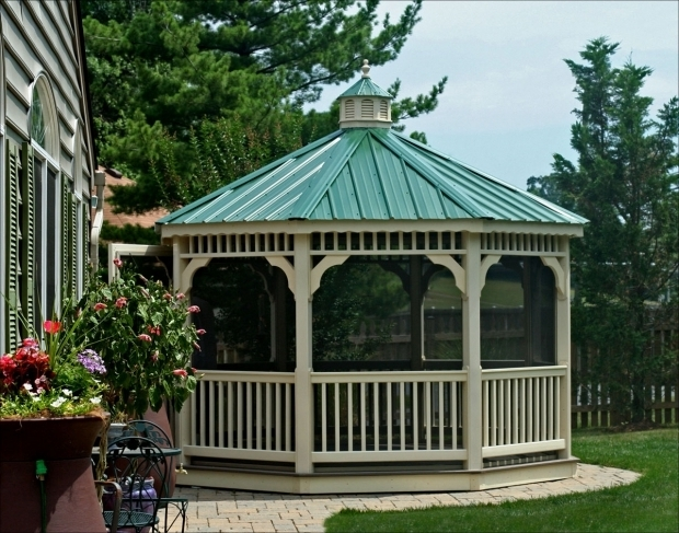 Delightful Steel Roof Gazebo Metal Roof For Gazebo Best Roof 2017