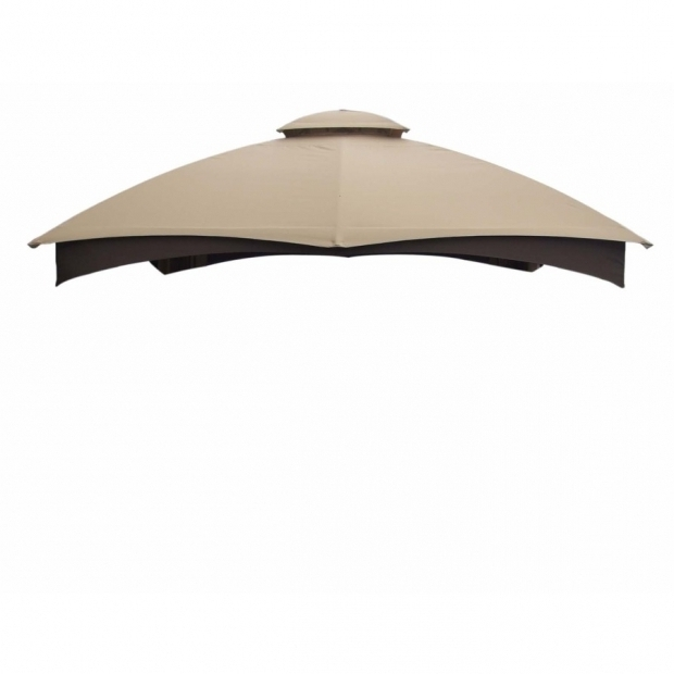 Fascinating Allen Roth Gazebo Replacement Canopy Shop Allen Roth Beige Replacement Canopy Top At Lowes