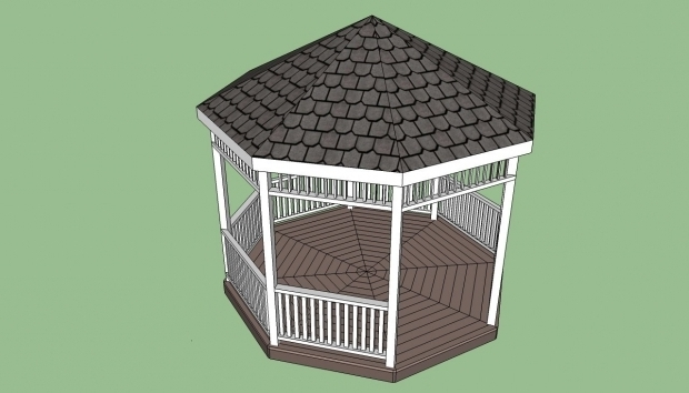 Fascinating Octagon Gazebo Plans Gazebo Plans Free Howtospecialist How To Build Step Step