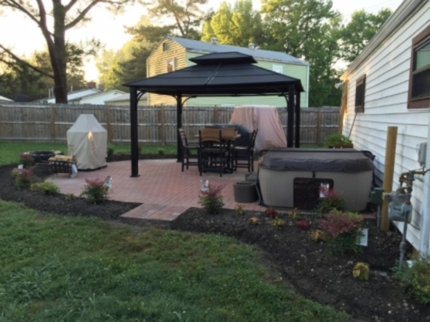 Fascinating Sunjoy Hardtop Gazebos Sunjoy Chatham Steel Hardtop Gazebo Review