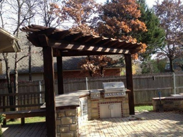 Triangular Pergola