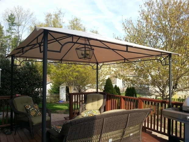 Image of Living Accents Gazebo Replacement Canopy For Living Accents 10ft Riplock 350 Garden Winds