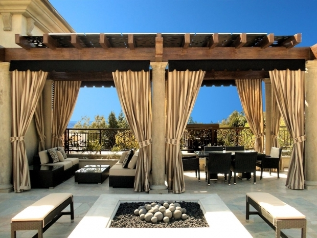 Incredible Pergola Outdoor Curtains Outdoor Curtains Ideas And Designs Inmyinterior