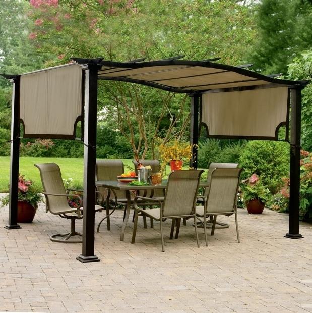 Inspiring Garden Oasis Pergola Garden Oasis Pergola Replacement Canopy Home Design Ideas