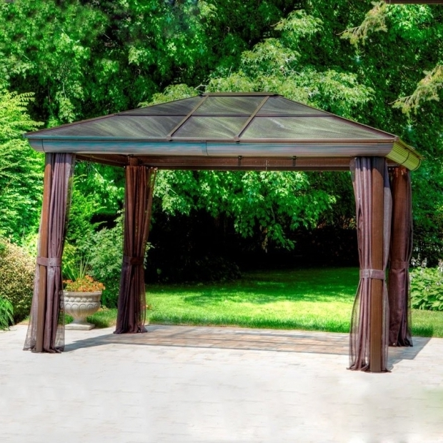 Inspiring Gazebo Kits Lowes Shop Gazebos At Lowes