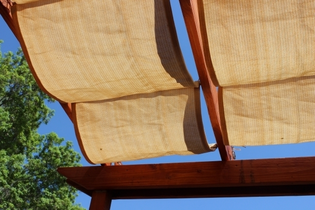 Inspiring Shade Fabric For Pergola Diy Pergola Jandbmarvin