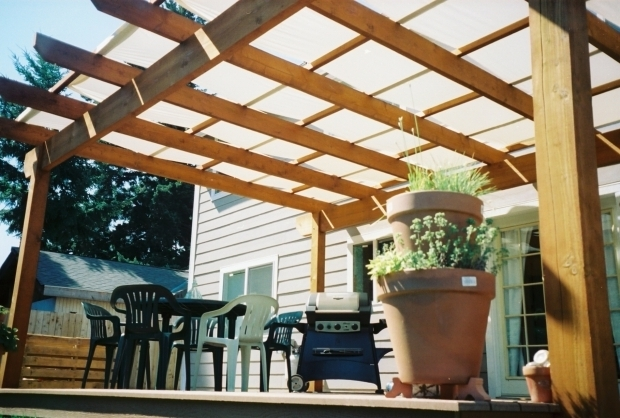 Outstanding Pergola Sun Shade Covers Control The Sun With Patio Covers Decking Fabrics And Design