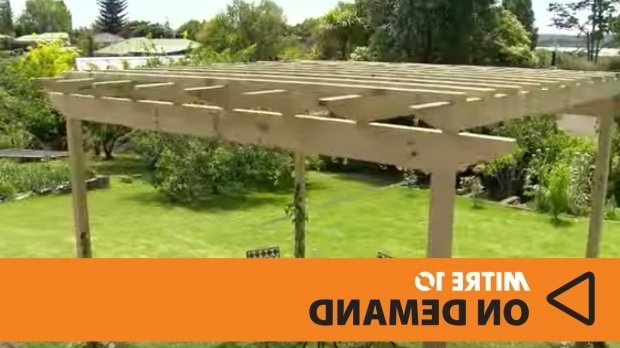 Stunning How To Build A Pergola How To Build A Pergola Mitre 10 Easy As Youtube