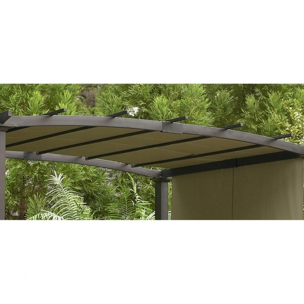 Stylish Garden Oasis Pergola Sears Garden Oasis Curved Pergola Replacement Canopy Gf 11s168b