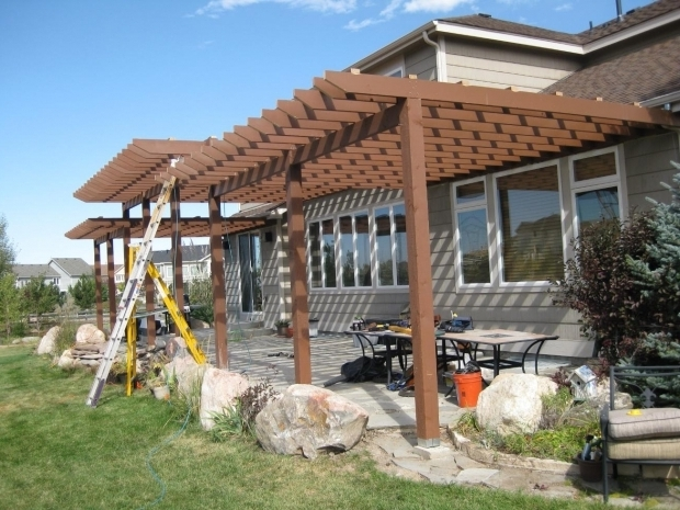 Stylish Multi Level Pergola Pergola Deck Design In Golden Briar Street Builders