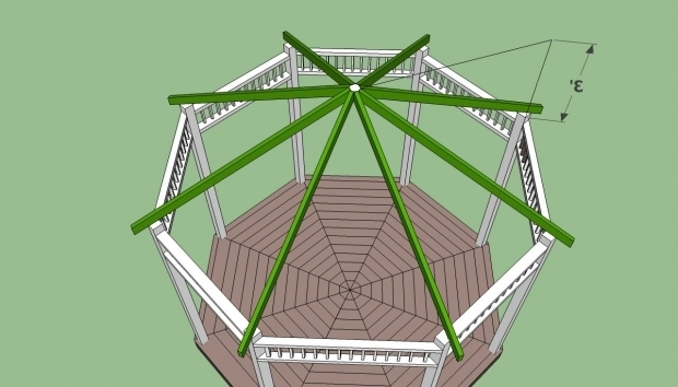 Octagon gazebo roof plans pergola gazebo ideas for Free cupola plans