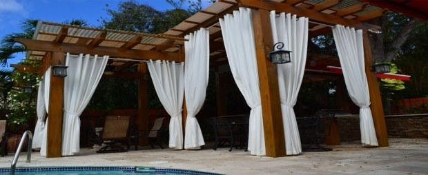 Wonderful Pergola Outdoor Curtains Outdoor Drapery Sunshield Awnings