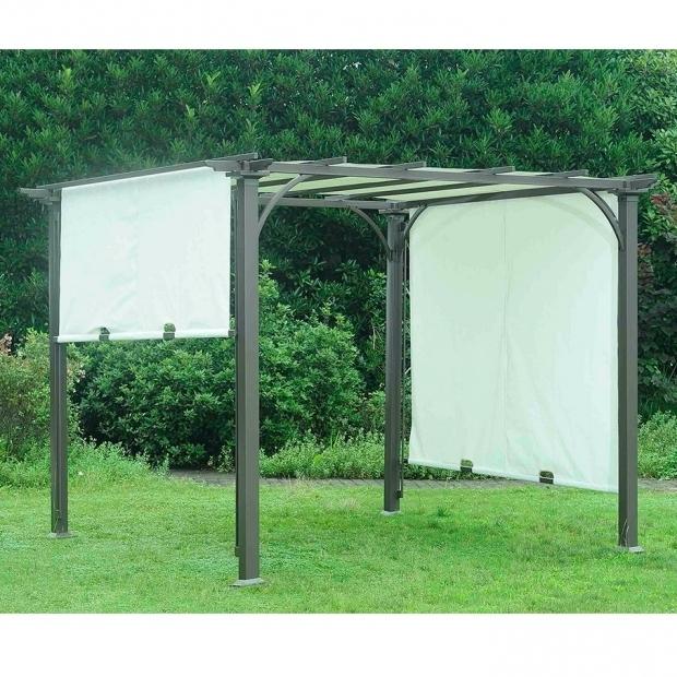 Alluring Adjustable Shade Pergola Sunjoy Replacement Canopy For 8 W X 8 D Adjustable Shade Pergola