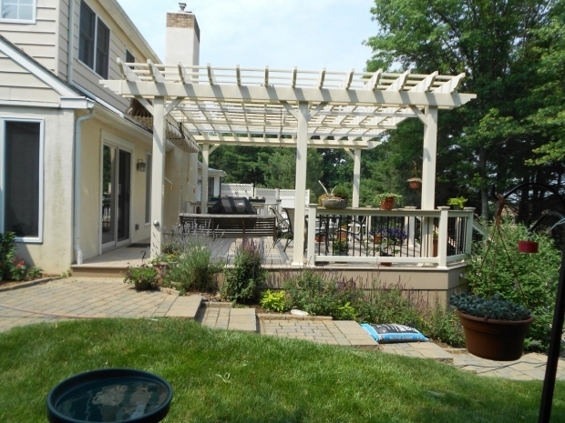 Alluring Decks With Pergolas Deck With Pergolas Deck Pergolas In Lancaster Chester County
