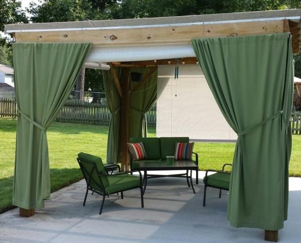 Alluring Pergola Designs With Curtains Simple Pergola Curtains Ideas Design Ideas And Decor