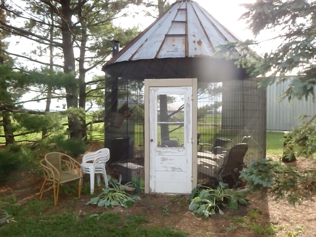 Alluring Wire Corn Crib Gazebo Corn Crib Gazebo Diy Projects To Try Pinterest Gazebo And Cribs