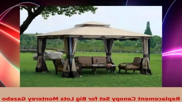 Amazing Big Lots Gazebo Canopy Replacement Canopy Set For Big Lots Monterey Gazebo Youtube