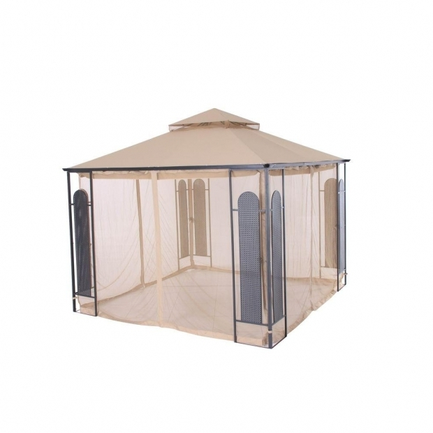 Amazing Gazebos At Home Depot Hampton Bay 10 Ft X 10 Ft Christy Gazebo Gfs00470c The Home Depot