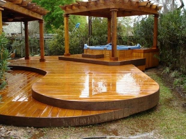 Amazing Hot Tub Gazebo Plans Free Most Seen Images In The The Best Image Of Outdoor Hot Tub Deck