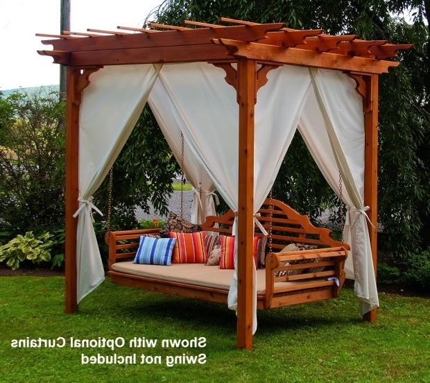 Awesome Cedar Pergola Swing Elegant Western Red Cedar Pergola With Swing Hangers The Rocking