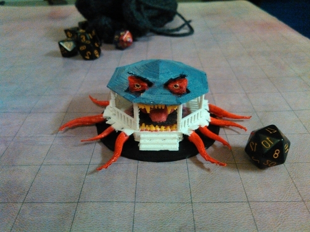 Awesome Eric And The Dread Gazebo The Dread Gazebo 3d Printed For My Upcoming Campaign Files And