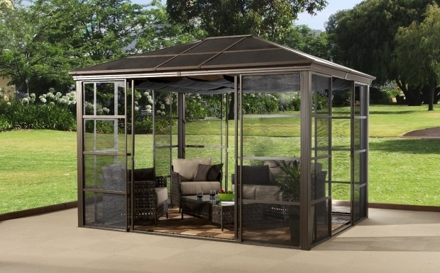 Awesome Metal Roof Gazebo Kits Gazebo Ideas 10x12 Gazebo Privacy Panels With Rattan Outdoor