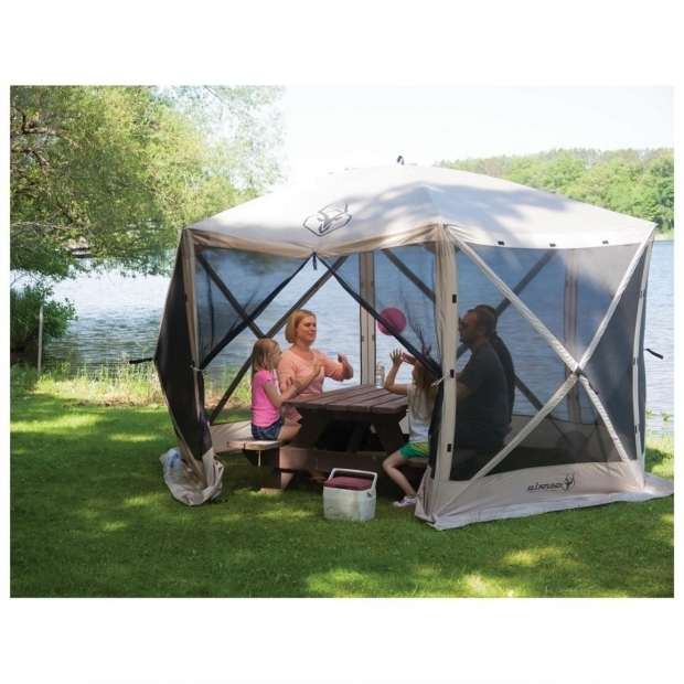 Awesome Portable Gazebo Tent Gazelle 6 Sided Portable Gazebo 666523 Screens Canopies At