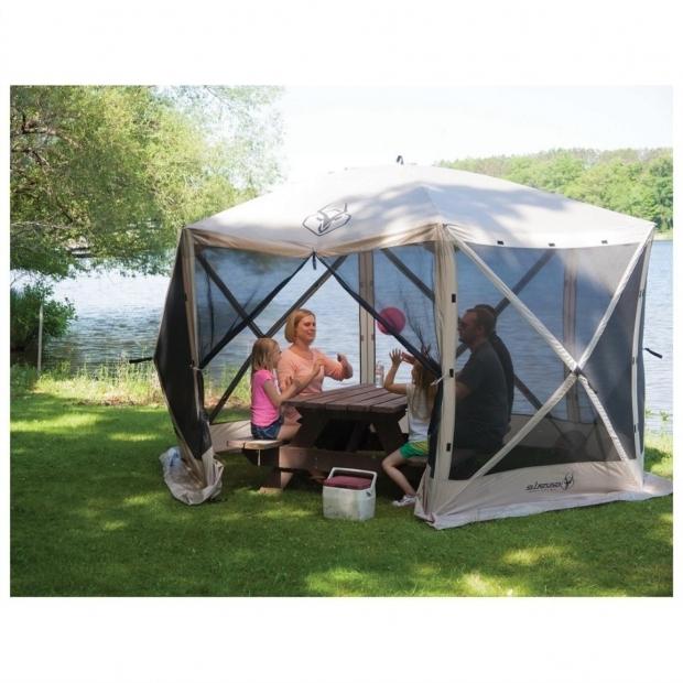 Awesome Portable Gazebo Tent Gazelle 6 Sided Portable Gazebo 666523 Screens Canopies At