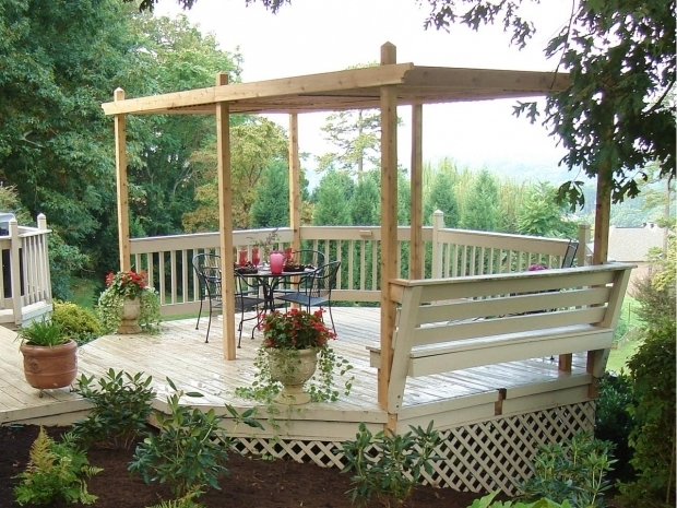 Beautiful Adjustable Shade Pergola How To Build A Backyard Pergola Hgtv
