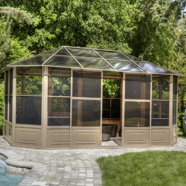 Beautiful Gazebo Penguin 12 X18 Four Season Solarium Gazebo Penguin Four Season Solarium 12 Ft W X 18 Ft D Metal