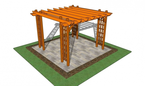 Beautiful How To Build A Freestanding Pergola How To Build A Pergola On A Patio Howtospecialist How To Build