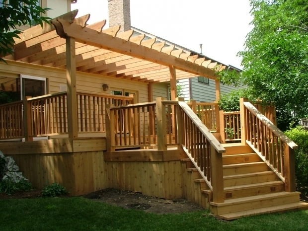 Delightful Pergola Designs For Decks Awesome Deck Pergola With Simple Ideas