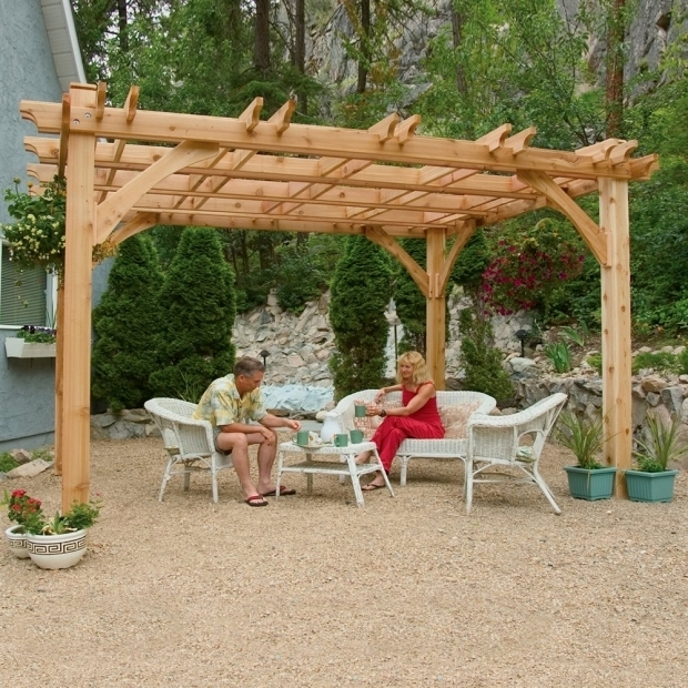 Delightful Pergola Kits Lowes Rectangular Pergolas Lowes Canada