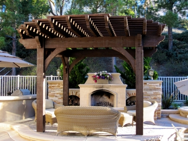 Fantastic Gazebo With Fire Pit Inside How To Build A Gazebo In Fun Project Home Design And Decor