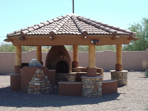 Gazebo with fireplace plans pergola gazebo ideas for Plans for gazebo with fireplace