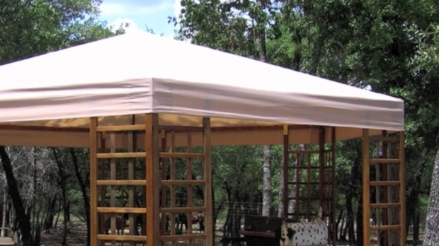 Fantastic Sam's Club Gazebo Canopy Sams Club Wood Hexagon Gazebo Replacement Canopy Youtube