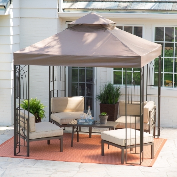 Fascinating 8x8 Gazebo Canopy Coral Coast Prairie Grass 8 X 8 Ft Gazebo Canopy Walmart