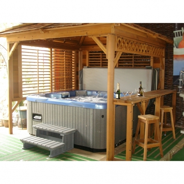 Hot tub gazebo plans free pergola gazebo ideas for Diy hot tub gazebo