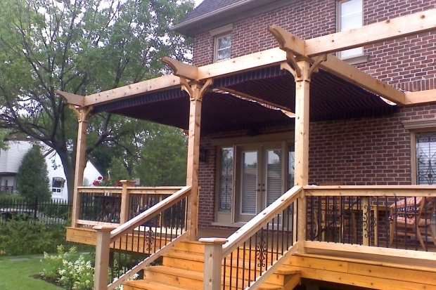 Fascinating How To Build A Freestanding Pergola On A Deck Pergola Design Attached Freestanding Or Hybrid