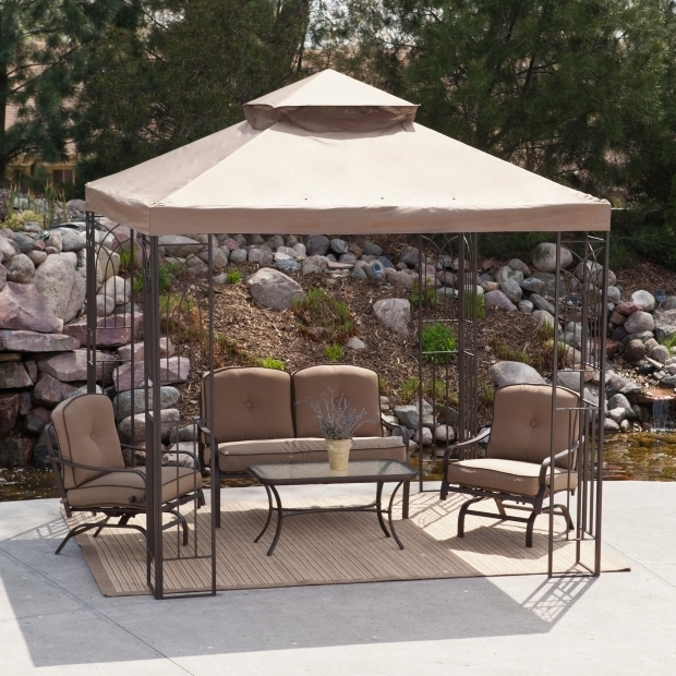 Gorgeous 8x8 Gazebo Canopy Have To Have It Prairie Grass 8 X 8 Ft Gazebo Canopy 23999