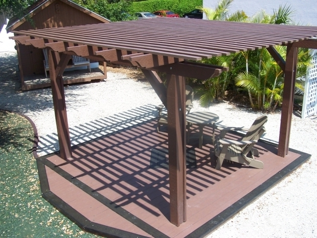 Gorgeous Outdoor Pergola Kits Lifetime Lumber Composite Pergola Kits