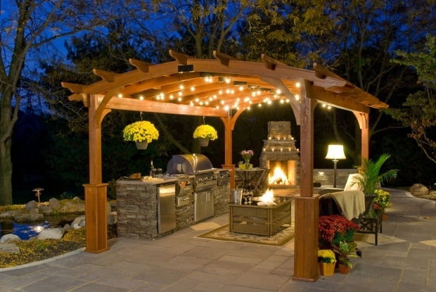 Gorgeous Pergola With Lights 6 Simple Ideas Of Pergola Lighting Kloter Farms Blog